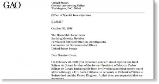 Office of special investigations memo