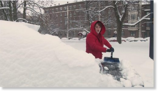 Albany digs out from heavy snowfall