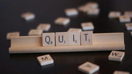 quit scrabble pieces