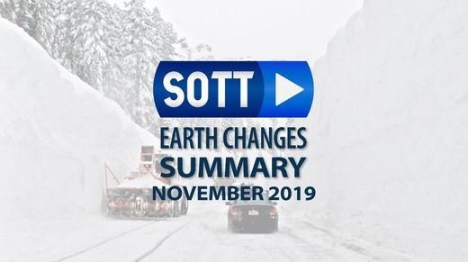 SOTT Earth Changes Summary - November 2019: Extreme Weather, Planetary Upheaval, Meteor Fireballs