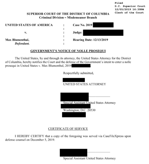 court document max blumenthal