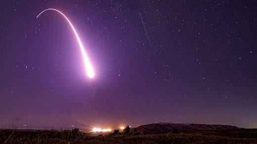 Minuteman III ICBM launch