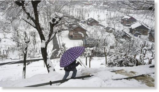 snowfall continue in northern state