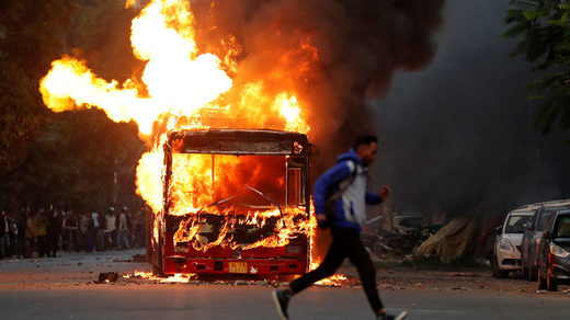 India CAB riots protests