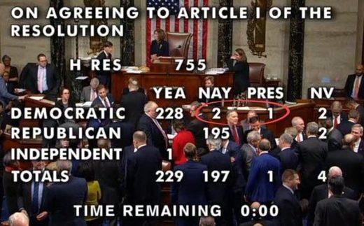 impeachment vote I