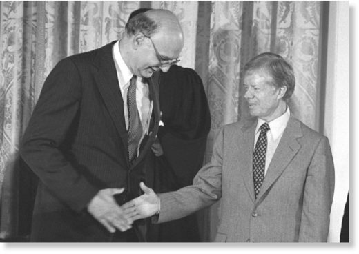 Paul Volcker with Jimmy Carter