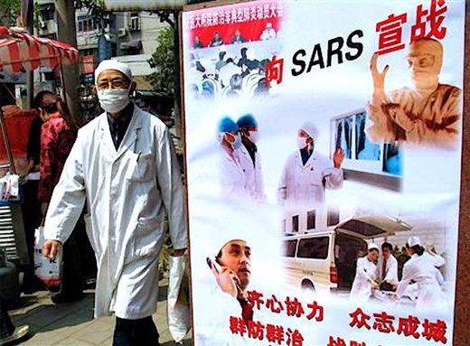 Healthworker China SARS
