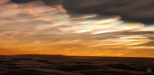 Polar Stratospheric Clouds over Lapland
