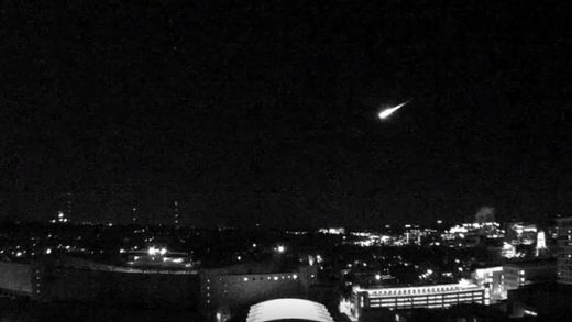 Rooftop cameras in Madison, Wis. have captured yet another meteor