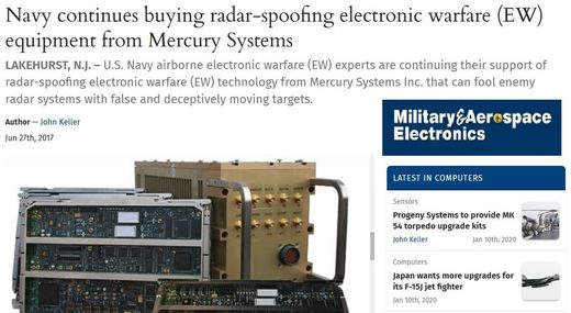 US Navy EW spoofing