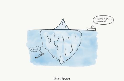 hidden iceberg