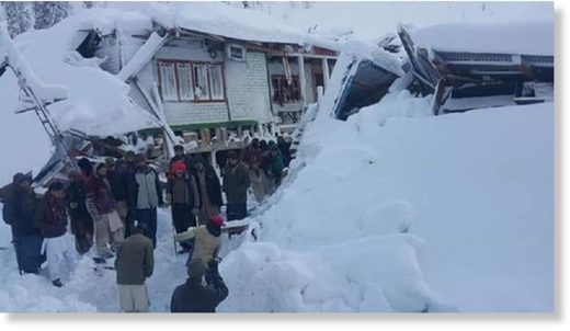 At least 67 dead in avalanches in Pakistan, India.