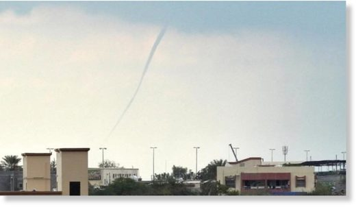 Twister-like waterspout spotted off UAE coast - The National
