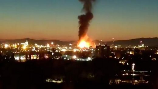spain chemical plant explosion