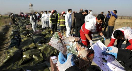 tehran plane crash