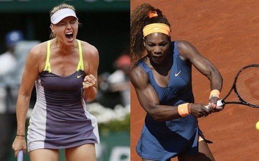 Sharapova Serena Williams