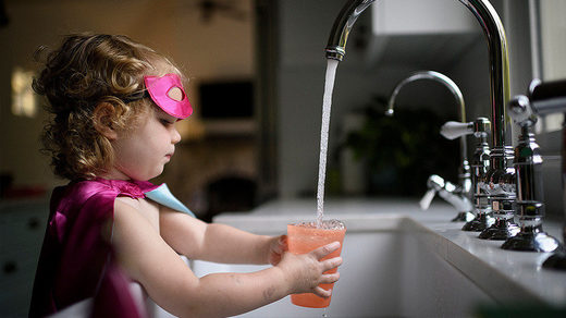 chemical pollution tap water
