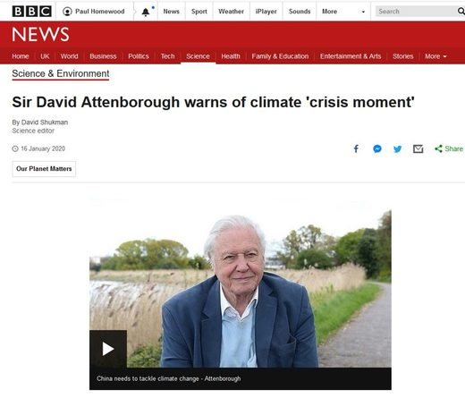 BBC david attenborough