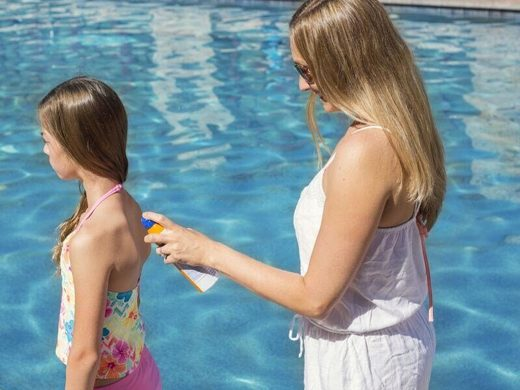 sunscreen kids summer