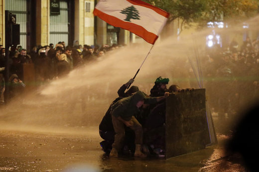 Heated demonstrations continue in Beirut, despite formation of new Hezbollah-approved government