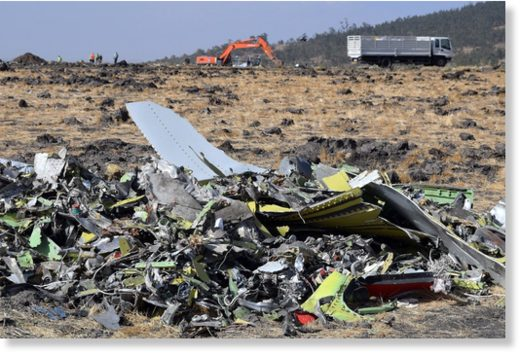 Ethiopian Airlines flight ET 302