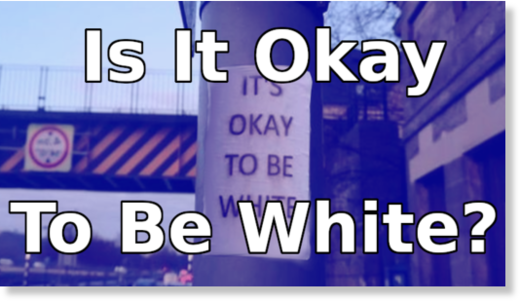 is it ok to be white?
