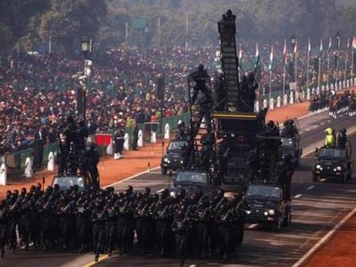 india military parade 71st republic day