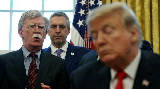 Trump: If I Listened to Bolton 'We would be in World War Six by now'