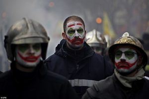 French firefighters joker