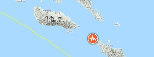 Soloman Islands earthquake