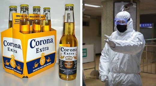 People believe the coronavirus and Corona beer are related, Google trends show