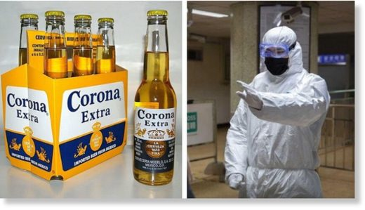 Corona beer and virus