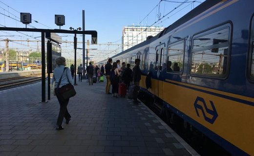 Train station smoking ban in Netherlands