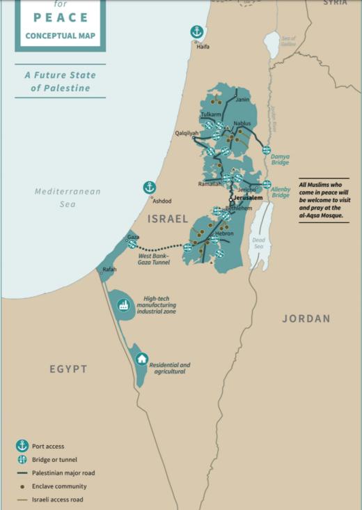 israel palestine deal of the century bantustan