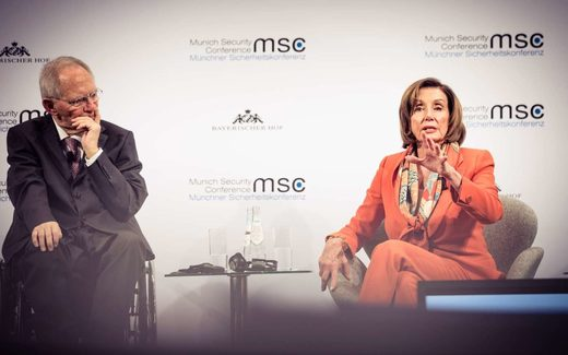 pelosi munich conference