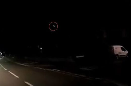 Meteor fireball over eastern England