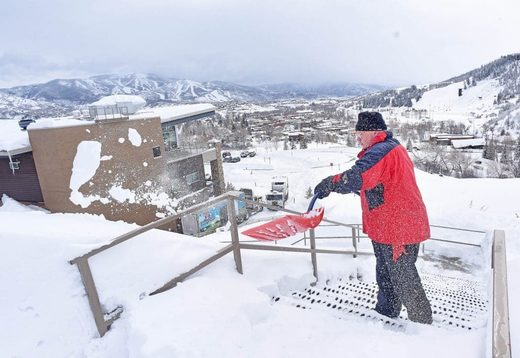 Northwest Colorado records storm's highest snow total - 40 inches over weekend