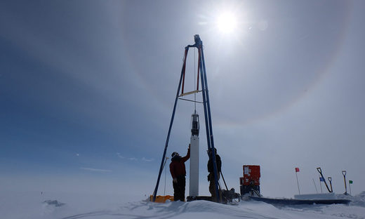 drill ice cores