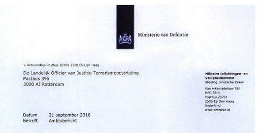 mh17 letter