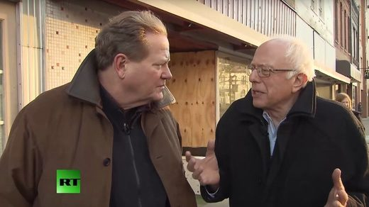 Ed Schultz Bernie sanders RT interview