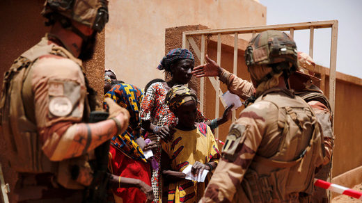 (FAMa) and French military Mali