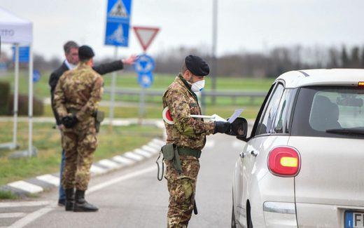 soldiers italy coronavirus
