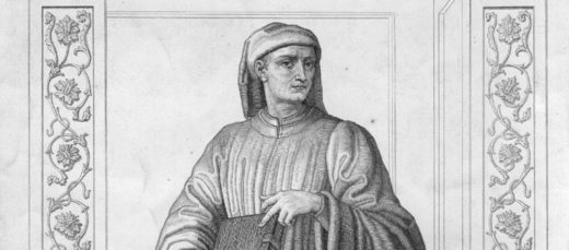 Giovanni Boccaccio (1313-1376), the Italian author of the Decameron.
