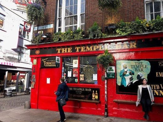 The Temple Bar in Dublin