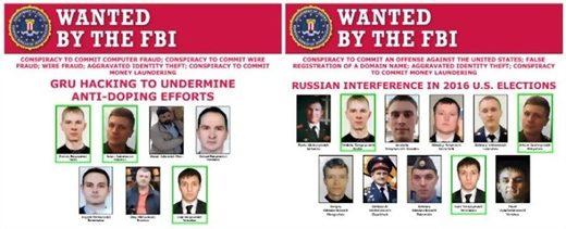 gru wanted FBI doping DNC hack