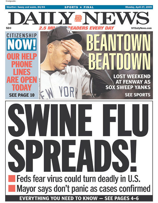 swine flu h1n1 hysteria