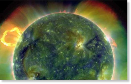 ultraviolet image of the sun