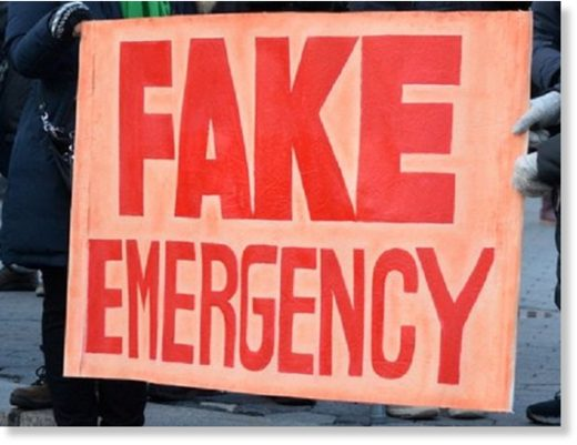 fake emergency