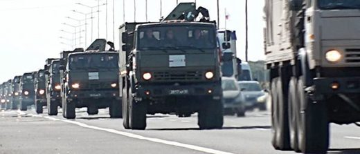russian army trucks italy
