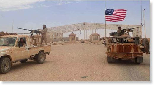 us military syria